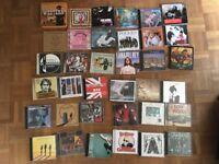 CD Collection. Pop Rock Indie etc Car boot job lot bargain Ebay Beatles Dylan Stones 60s 70s 80s