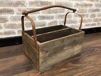 Rustic Storage Crate Tool Box