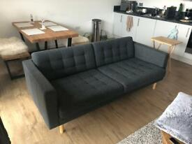 IKEA Landskrona 3-seat Charcoal Grey Sofa (Perfect condition, 11 months old)