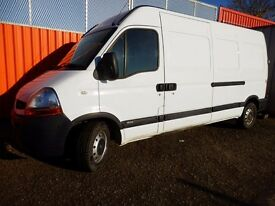 07 Renault Master Low miles, Fully serviced Ply lined & Mot'd