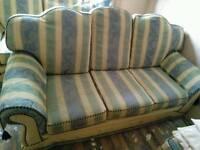 Sofa 3 + 2 including foot stool