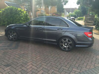 2013 MERCEDES-BENZ C180 C CLASS AMG SPORT PLUS + BLUE-CY GREY AUTOMATIC