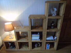 HANDMADE Freestanding Shelving Unit - Many Colours and Sizes!