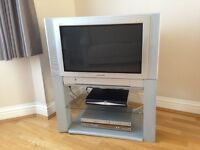PANASONIC TV WITH FREE TV STAND - EXCELLENT CONDITION