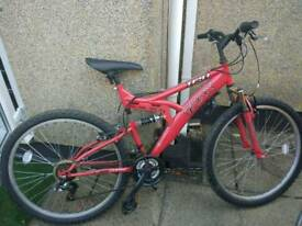 Bike red 26inch