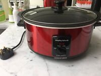 Morphy Richards 48702 Accents Sear and Stew Slow Cooker - Red