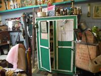Antique newfoundland 50's Food storage cabinet