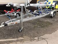 New Marlin Boat Trailer 2600kg Multi Roller (Displaying at London on the water- 10th-12th May.)