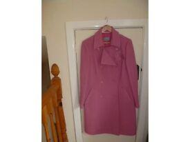 Ladies M&S per una coat jacket NEW. Size Medium in label perfect for smart winter coat or Wedding