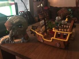 Jake & the Neverland Pirates - Large Toy Bundle