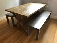 John Lewis Dining Table & Benches