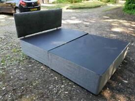 Double divan bed frame!