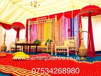 Zia Marquee hire ,wedding stage,tent hire,house lighting,chair & table hire