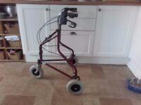 3 Wheeled walking frame