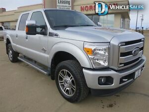 2015 Ford F-350 PLATINUM, LEATHER, NAVIGATION, HEATED-COOLED SEA