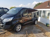 Ford Transit Custom ST Alloy Wheels and tyres, 235/50/R18, Load rated, extended wheel nuts supplied