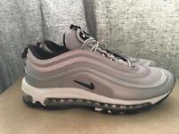 Silver Nike air max 97 brand new in box £40