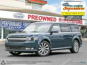2016 Ford Flex Limited>>>CAP UNIT w/DVD & Adaptive Cruise<<<