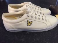 Lyle and scott canvas trainers