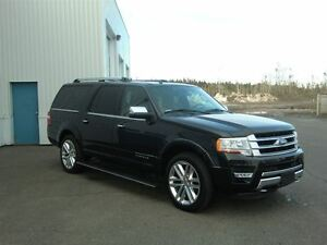 2015 Ford Expedition Max Platinum+ 4 WINTER TIRES