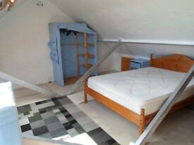 Large converted loft double room fully furnished for female in Bexleyheath