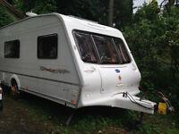 Bailey Senator 5 berth 2002 caravan - immaculate condition