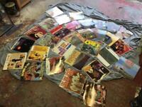 Assortment of vinyls