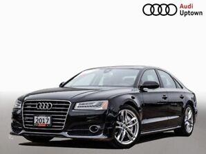2017 Audi A8 4.0T W/ DRIVERS ASISTANCE PKG