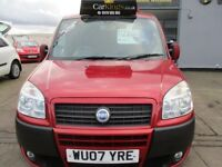 FIAT DOBLO 1.9 MultiJet Dynamic 5dr (red) 2007
