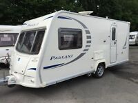 ☆ BAILEY PAGEANT MONARCH 2 BERTH ☆ TOURING CARAVAN ☆ MOTOR MOVER ☆ SERIES 7 ☆2008☆ FULLY SERVICED ☆