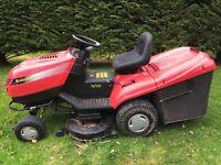 Ride on mower castel Garden