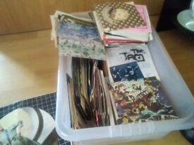 7 inch lps mixed 60s 70s 80s