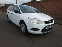 2009 FORD FOCUS ESTATE 1.6 DIESEL,1 OWNER FROM NEW,£30 ROAD TAX A YEAR FULL SERVICE HISTORY,2 KEYS,