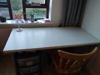 Desk 150x75cm adjustable height