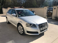 For Sale Audi A3, Registered February 2010, milage 100000.