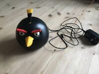 Angry Bird radio/stereo with free angry bird pencil case