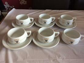 Rambout Coffee Cups & saucers