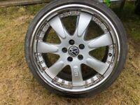 vw wheels 5x100 stud wheels 17 in on 1954017 tyres MOTOR SPORT WHEELS
