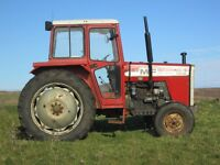 Massey Ferguson MF265 Tractor with Duncan safety cab
