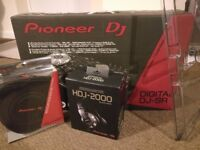 Pioneer DDJ-SR Complete DJ Set-up