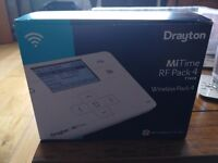 Drayton Wireless Thermostat for gas or oil central heating.