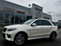 2013 Mercedes-Benz ML63 AMG AWD Nav Pano Sunroof Leather Tow Pkg