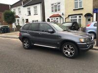 Grey BMW X5