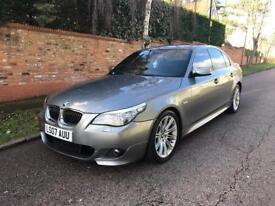 BMW 525D M SPORT 3.0/2007 FULLY LOADED AUTO 120K TEL.07391322684