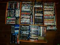 Massive lot of dvds and blu rays