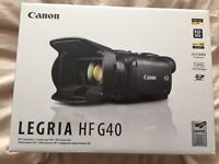 Canon Legria HF G40 High Performance Full HD Camcorder