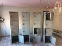 Metal lockers x4