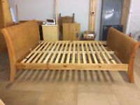 King Size Bed Frame (mattress free if required)