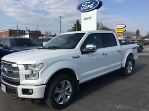 2015 Ford F-150 Platinum-Fully Loaded