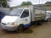 mk5 ford transit milk float...... spares/repairs (no mot) ideal export or recovery truck doner?